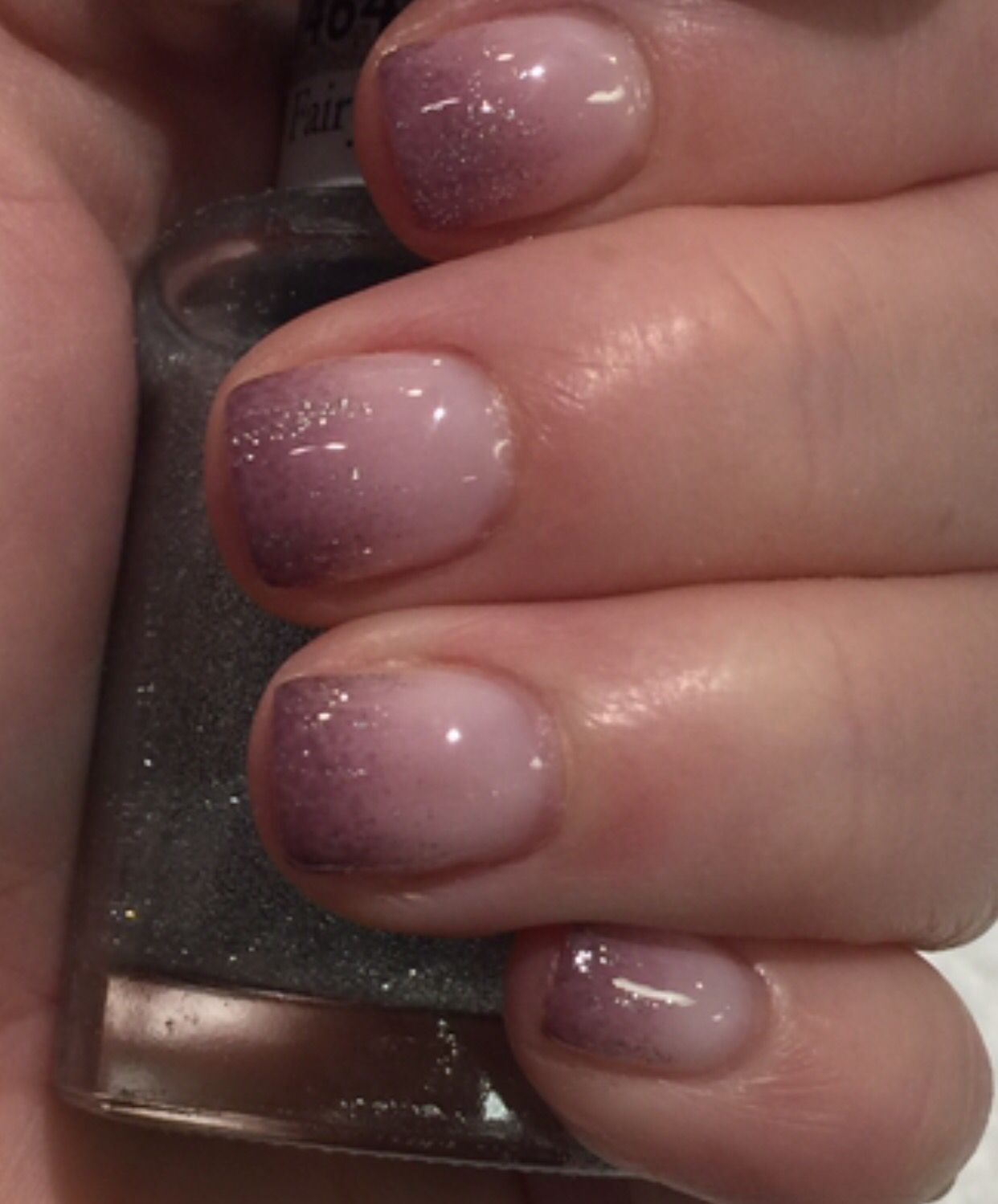 Mauve Ombré Nails by Tina Le Nail Elegance, Willow Glen, CA ...