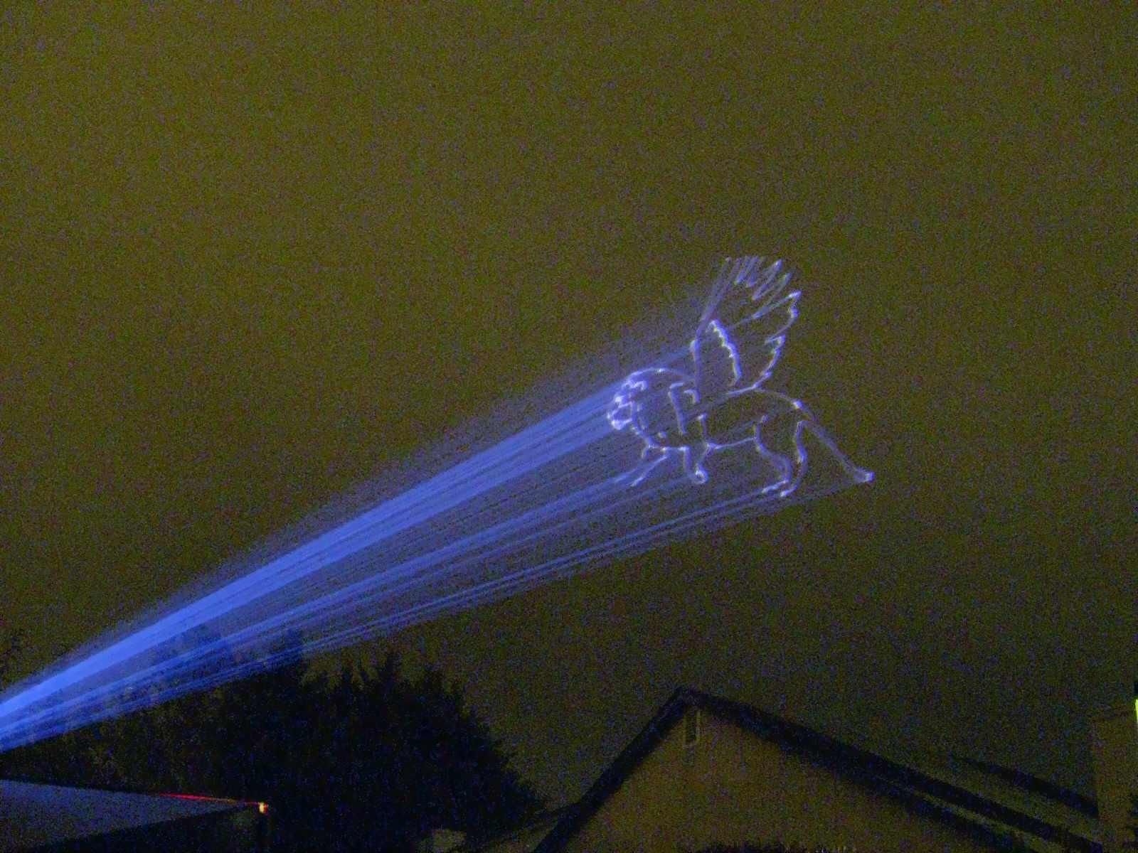 Sky Animated Laser Graphics Animation From Clouds In The Sky Extreme High Power Laser Display Rental Services Http Www Tribalexistance Com