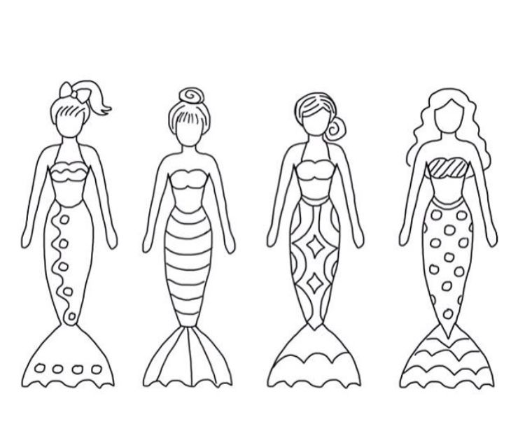 Pin By Annie Paquette On Kids Mermaid Crafts Coloring Pages Mermaid Coloring
