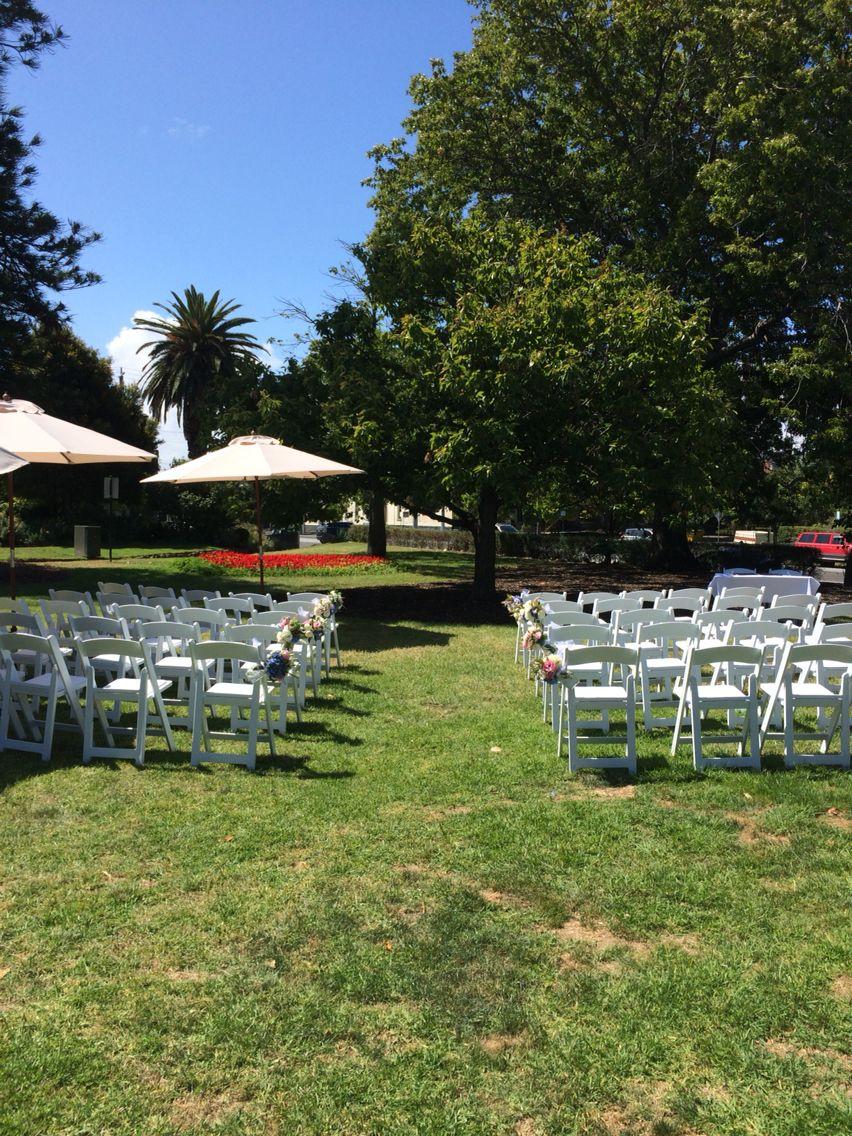 garden party wedding venues melbourne%0A St  Vincent Gardens  Albert Park  Melbourne