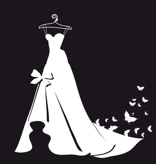 The Beautiful Wedding Dress Silhouette