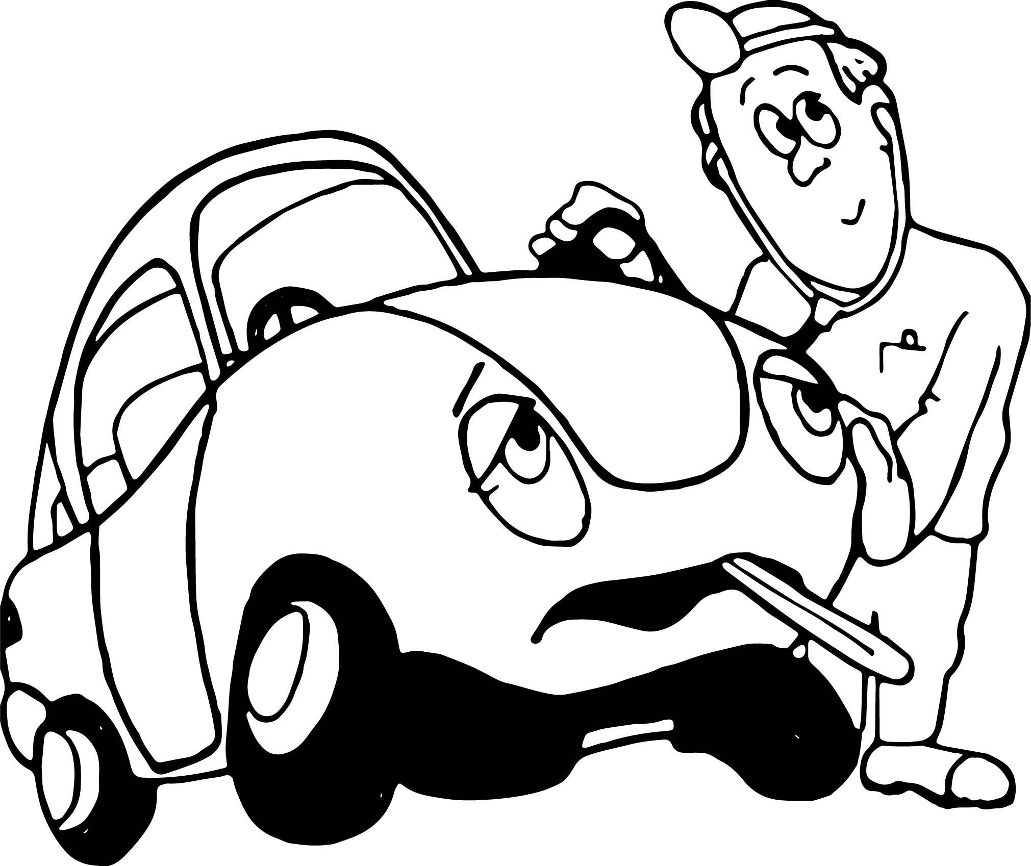 Cool Car Doctor Coloring Page Car Doctor Aston Martin Vulcan Super Cars In 2021 Race Car Coloring Pages Car Doctor Cars Coloring Pages
