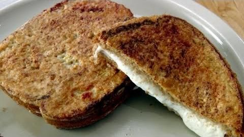 Mozzarella in Carrozza Recipe - Laura in the Kitchen - Internet Cooking Show Starring Laura Vitale