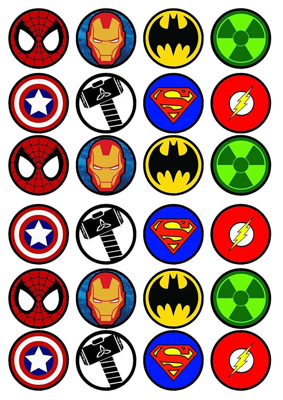 Супергерои картинки для печати, виде руки