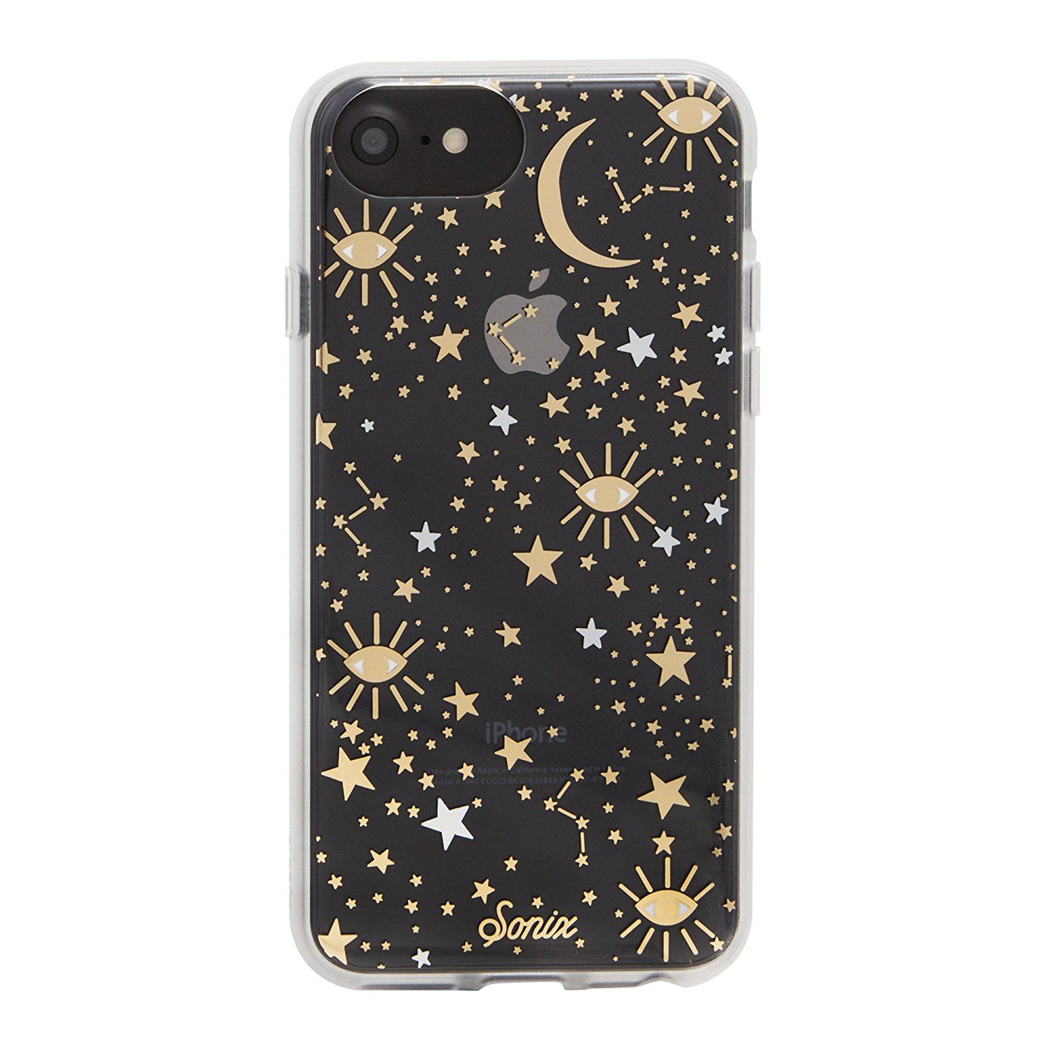 47bb67b25d iPhone 8 / iPhone 7 / iPhone 6, Sonix COSMIC (stars, gold/silver) Cell  Phone Case -Drop Test Certified -Retail Packaging - Sonix Clear Case for  Apple (4.7