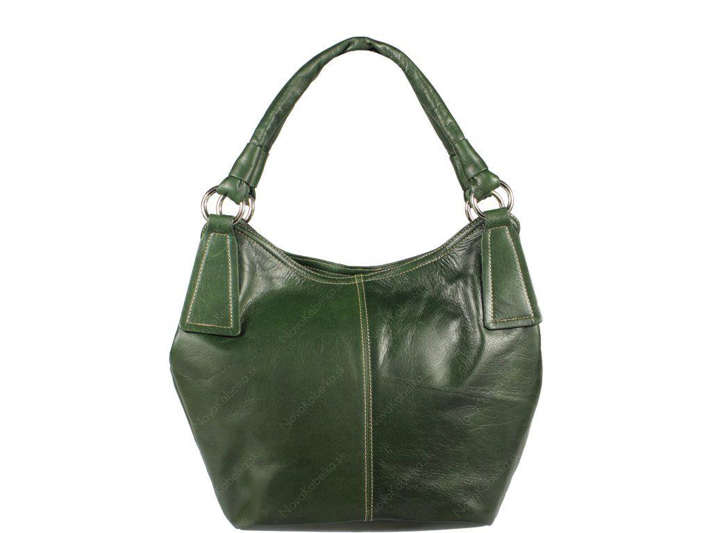 Talianska kožená kabelka  dec3e1ee011