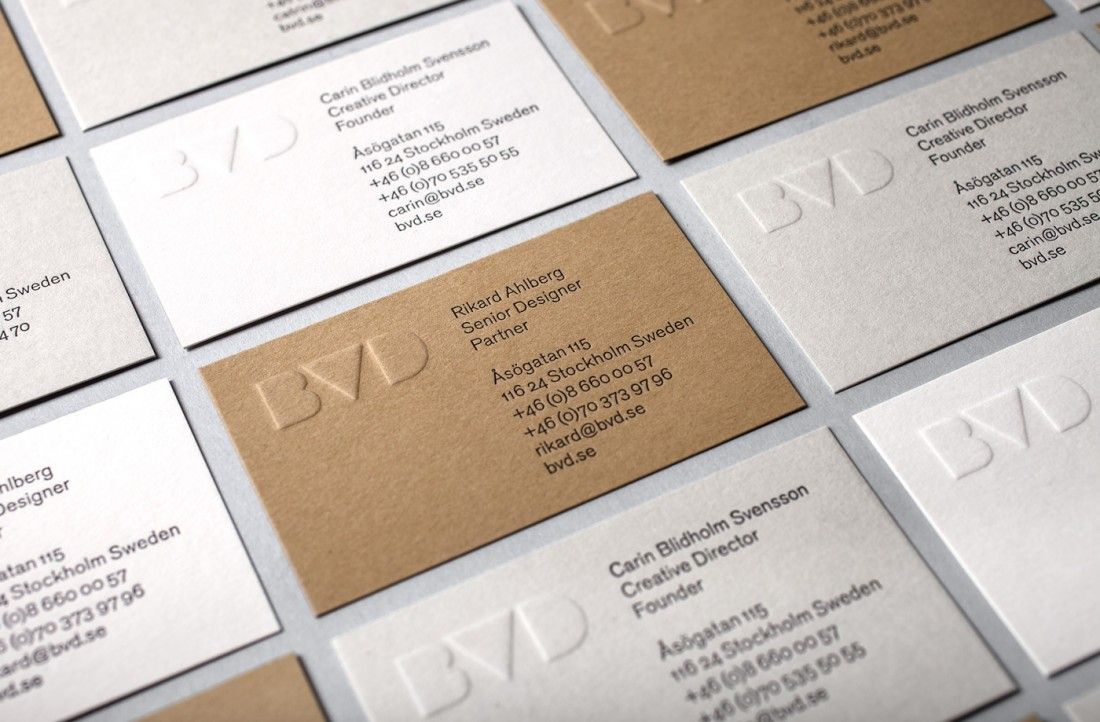 BVD Corporate identity branding stationary minimal graphic logo ...