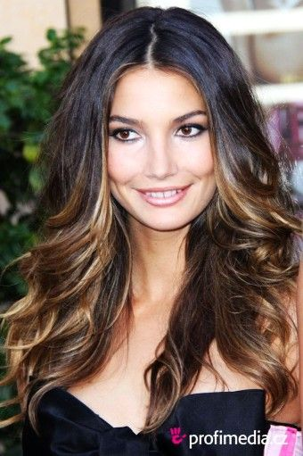 Diy ombre highlights dark brown hair dye for long wave hair girls diy ombre highlights dark brown hair dye for long wave hair girls square face pmusecretfo Image collections