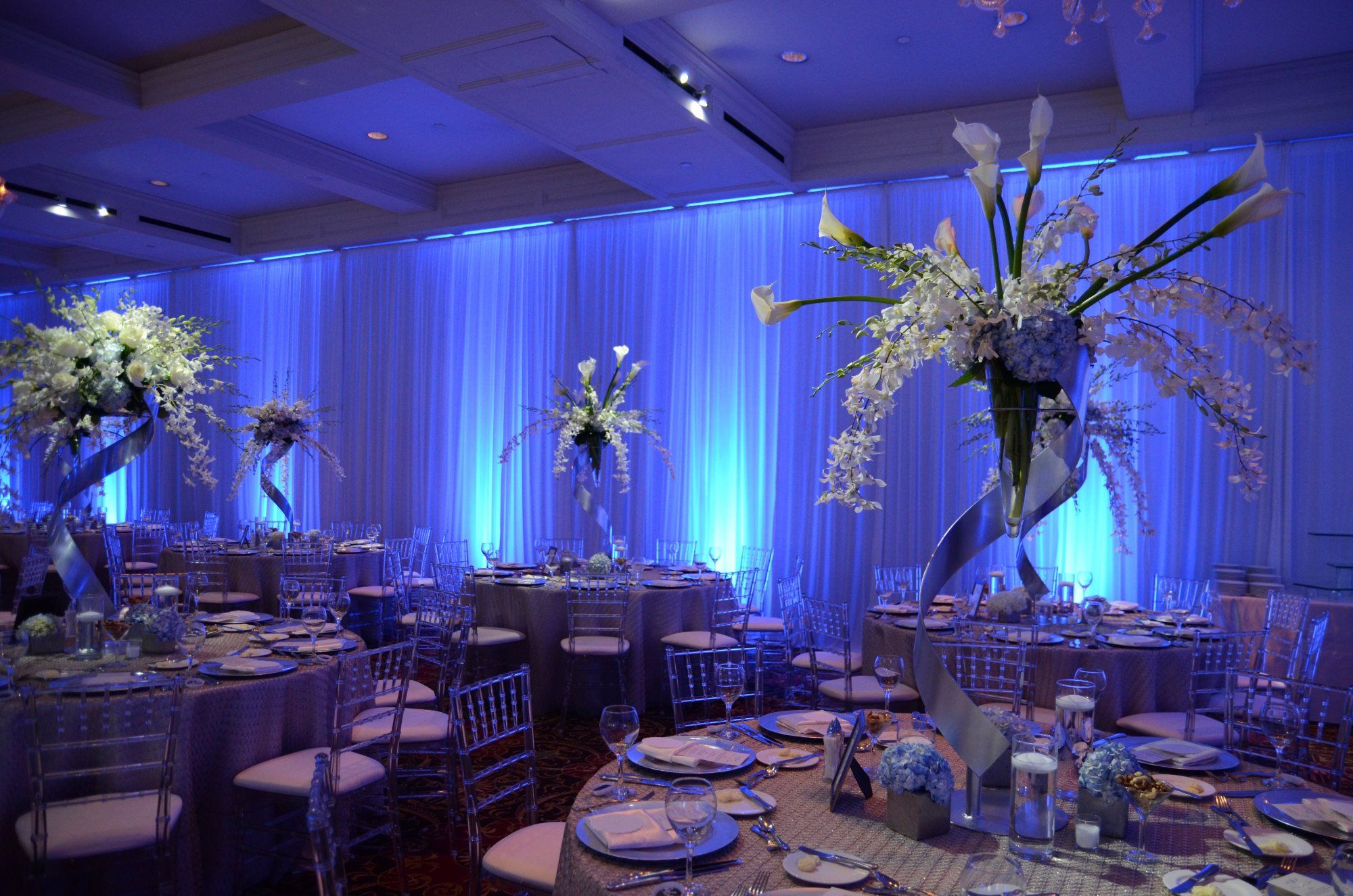 chair cover rental michigan grey nursery led uplighting service for weddings and