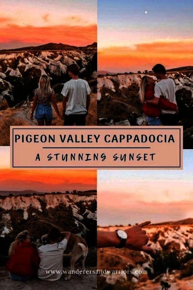 Vadisi Kapadokya - Guvercinlik Vadisi - Sunsets in Cappadocia : Pigeon Valley Cappadocia - Güverci