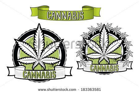Marijuana Signs And Symbols Marijuana And Ganja Symbol Vector