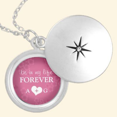 Be in my life FOREVER - Fuchsia Silver Locket by ShareMyLife #marriageproposal