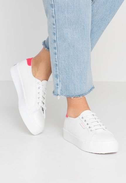 2736 Baskets basses whitecoral fluo | Sneaker
