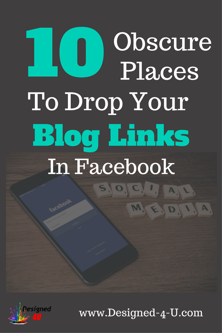 If you have a blog or website then getting traffic is essential, adding your links in these 10 obsure places on Facebook will certainly help drive some free traffic. Check them out now...