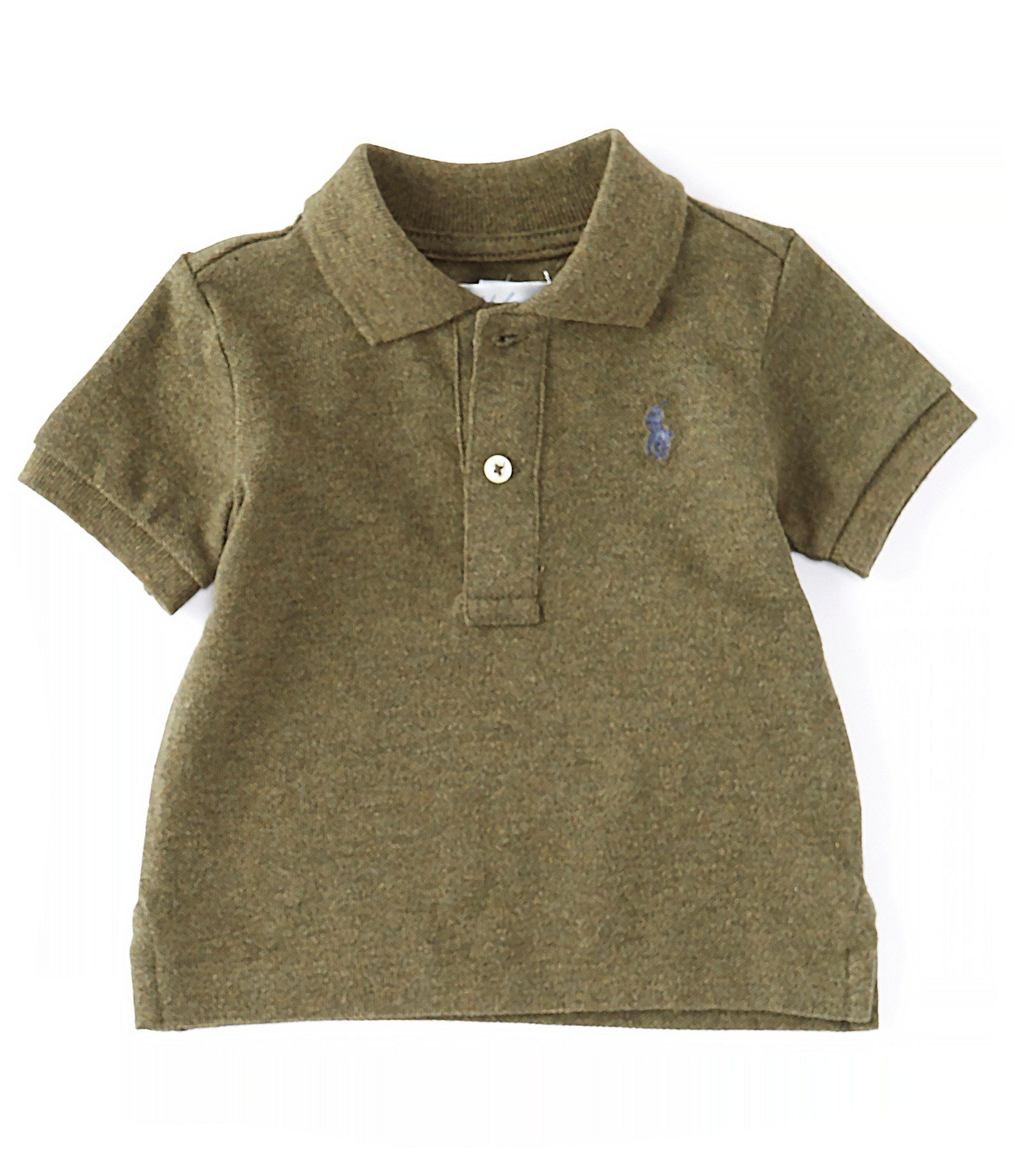 POLO RALPH LAUREN Baby Boys/' Short Sleeve T-shirt Grey Heather 18 or 24 months