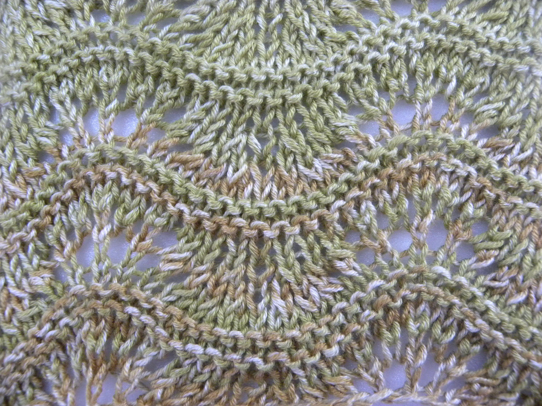 Unique Häkeln Eichenblattmuster Component - Decke Stricken Muster ...