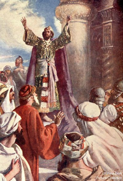 King Solomon In The Bible Kings 7 Bible Pictures