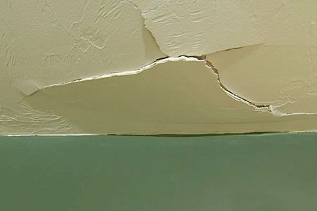 How To Repair A Ed Drywall Ceiling Around The Home