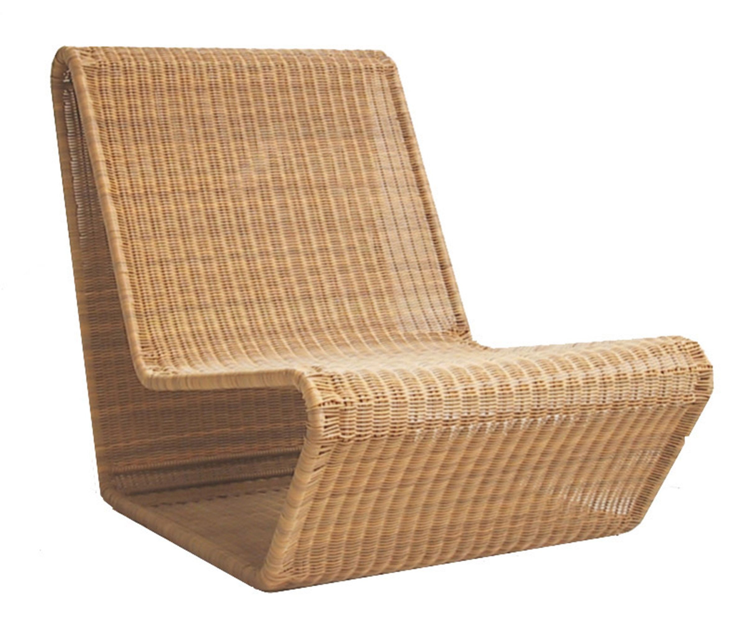Vintage Fong Brothersu0027/Tropi Cal Design By Danny Ho Fong, Circa Stainless  Steel Frame With Woven Resin Wicker. The Wave Lounge Chair Epitomizes  Mid Centuryu2026