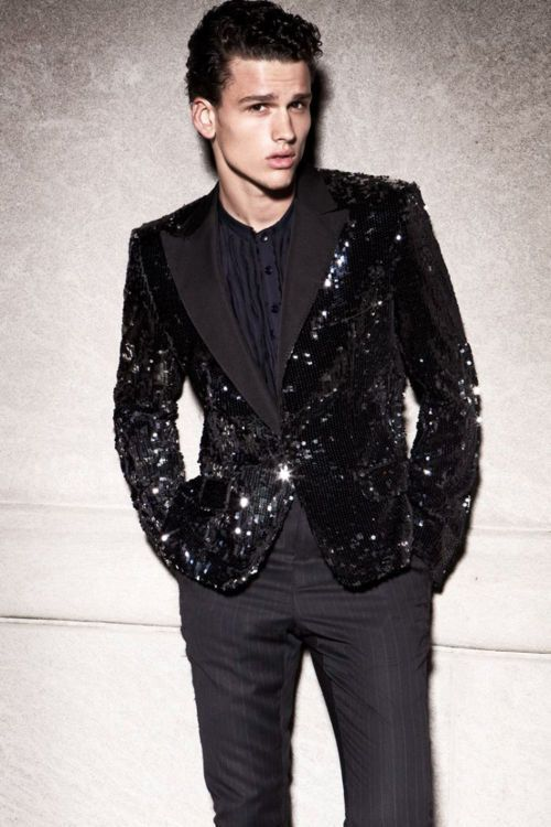 666f24ec25 I would do horrible things to acquire this men's sequined blazer ...