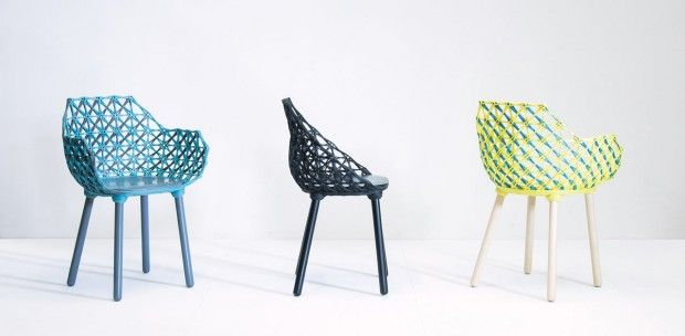 Collection de chaises et de tables Bobina par studio nito - Journal du Design