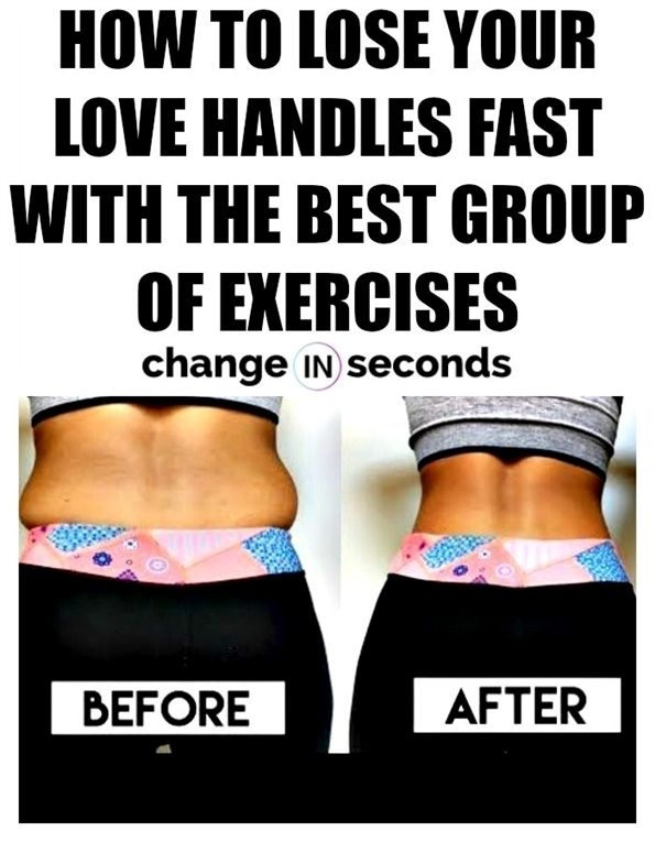how to lose love handles in 3 days