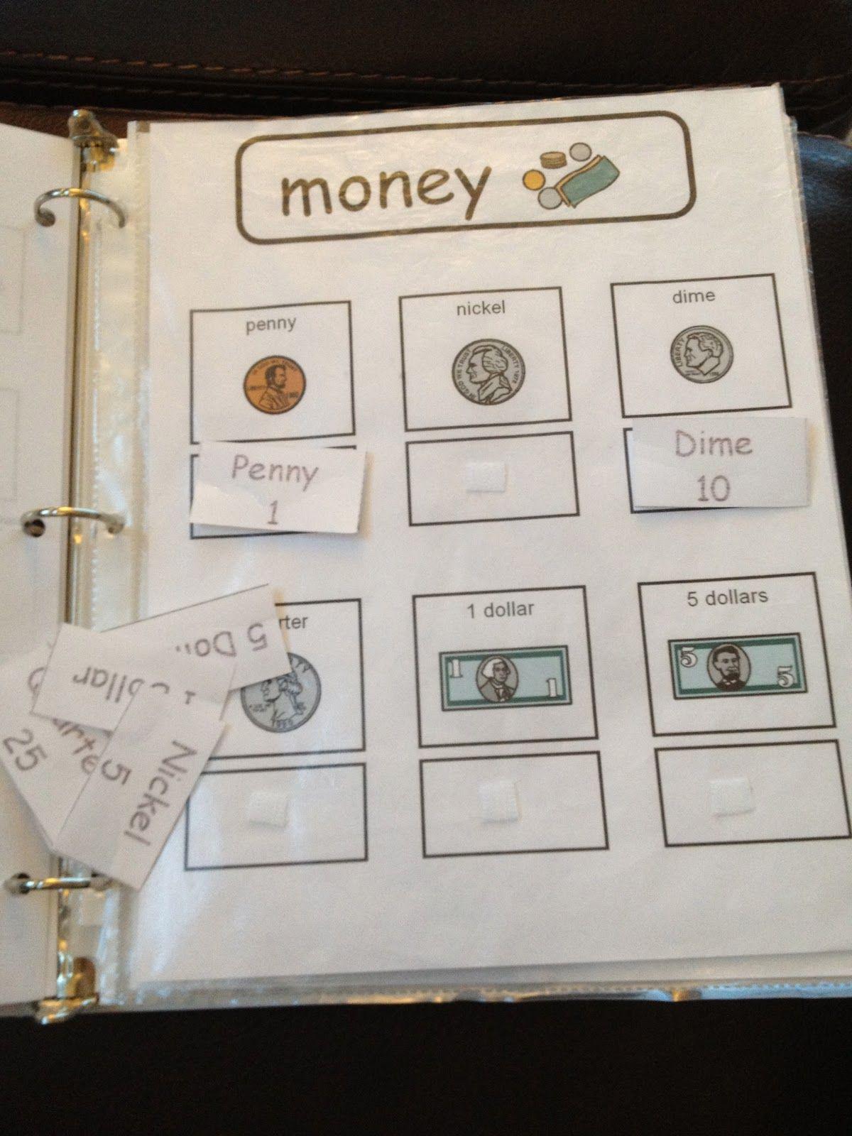Autism Tank Homework Binders In