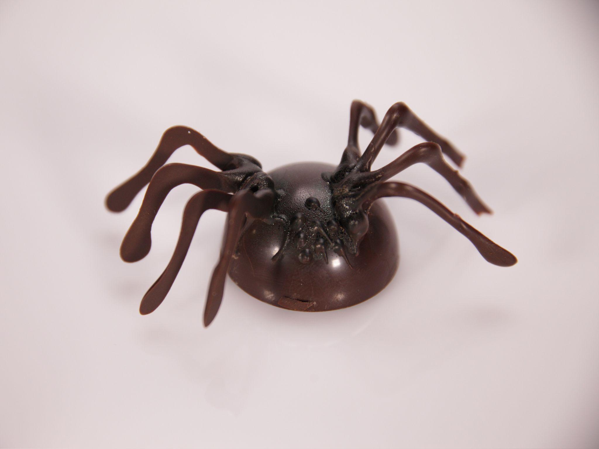 halloween recipe - Halloween Chocolate Spiders