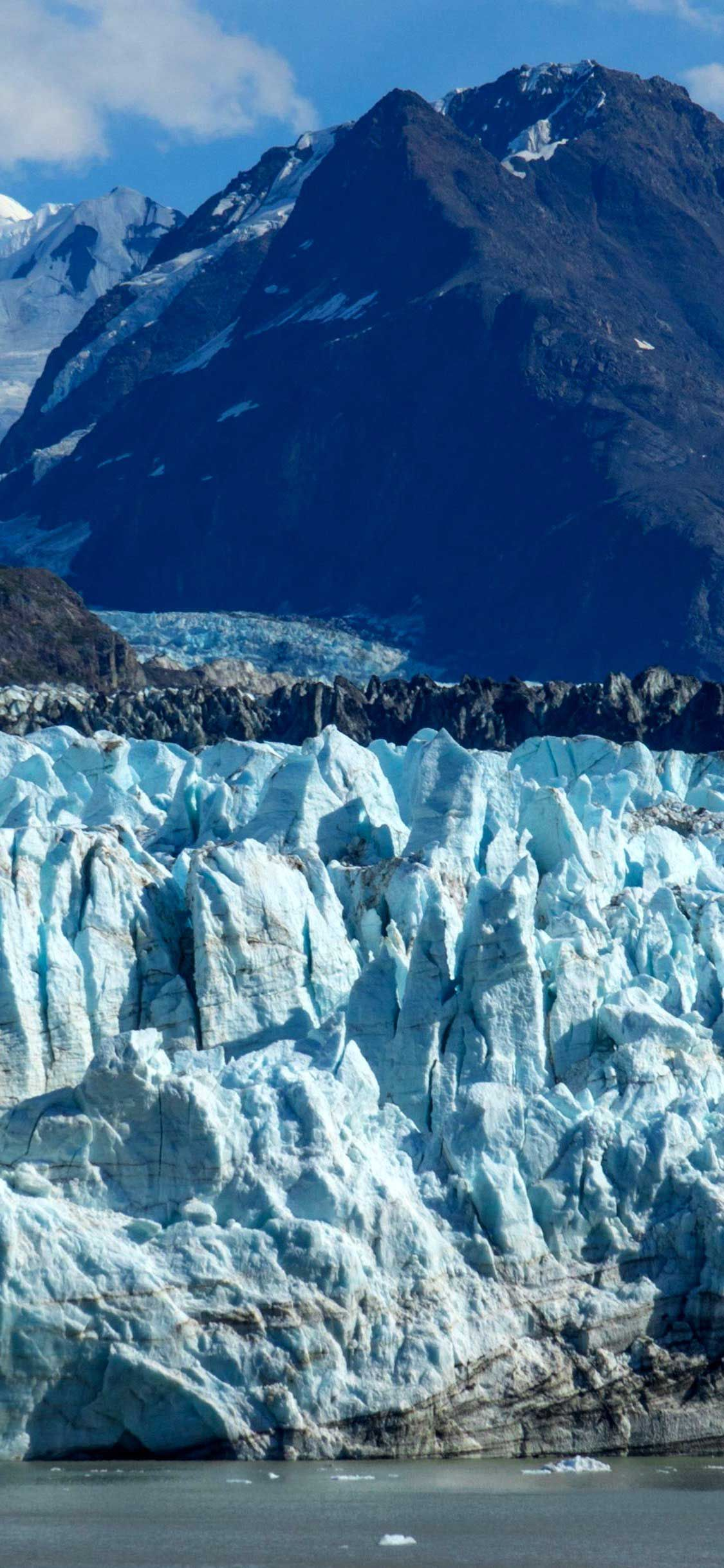 Iphone Pro Wallpaper Alaska mountains ice floes Hd in