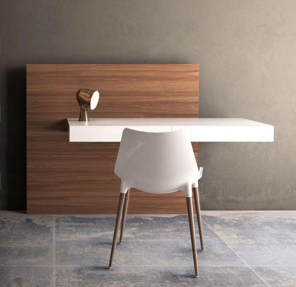 Los escritorios única oficina en casa