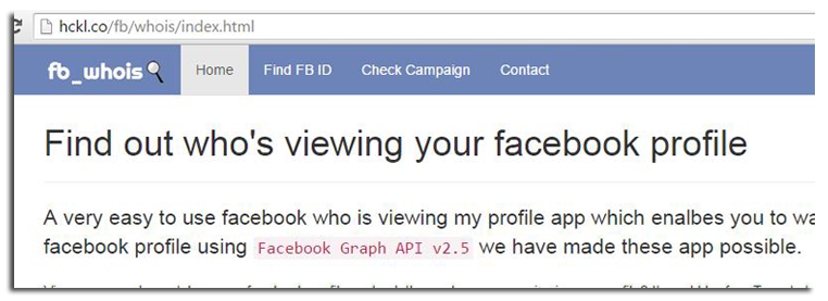 GET] Facebook Private Profile Viewer - 2015 Updated | Hacks and