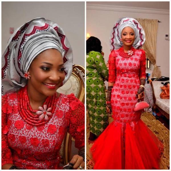 Nigerian Traditional Dress for Wedding