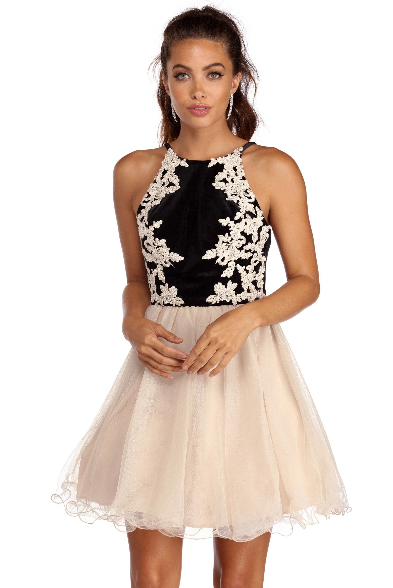 055de89a7f1 FINAL SALE- Jamie Velvet Dreams Party Dress in 2018