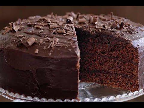 أسهل طريقة عمل كيكة الشوكولاتة الاسفنجية Chocolate Fudge Cake Recipe Chocolate Fudge Cake Tasty Chocolate Cake