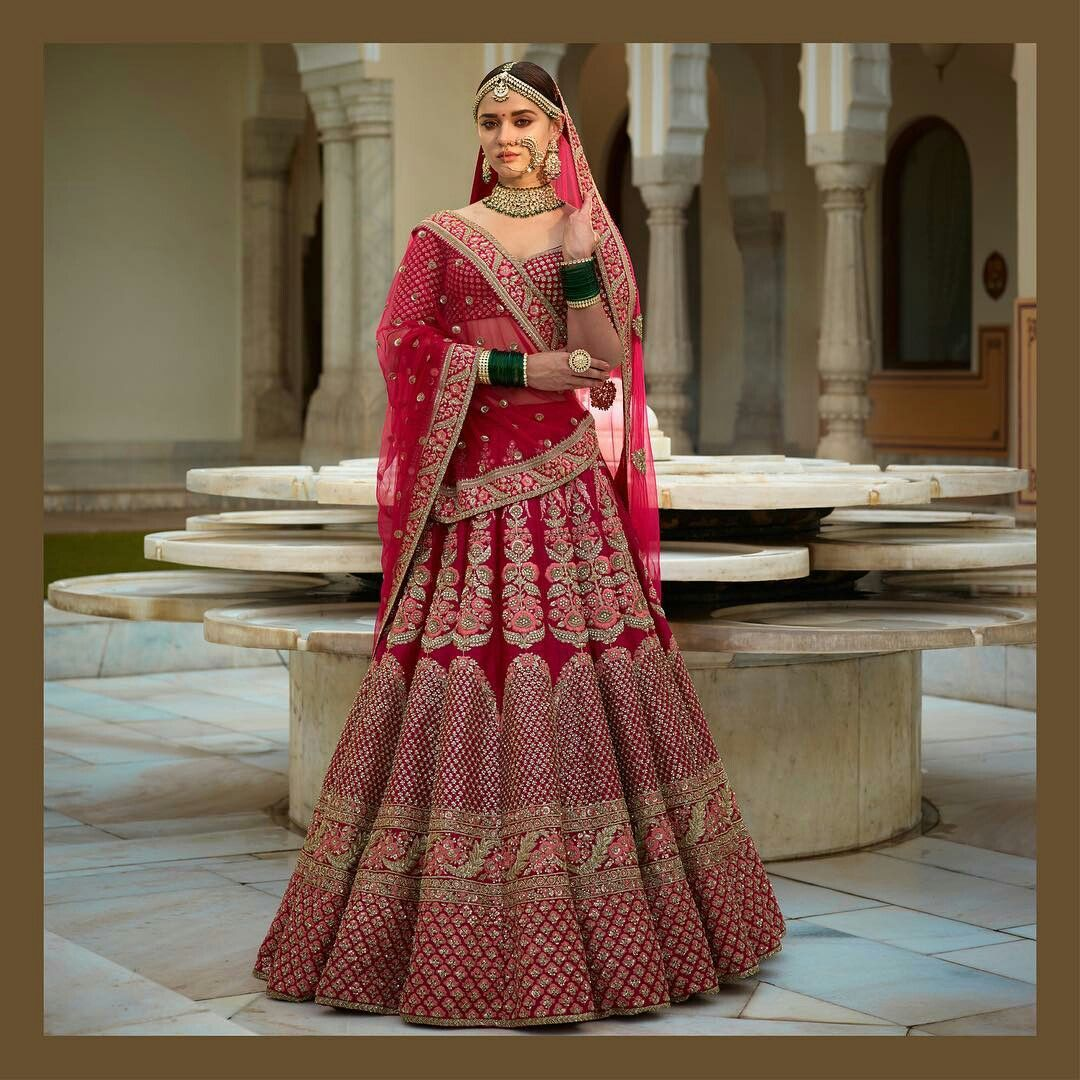 Lehenga designs | Indian Attire | Pinterest