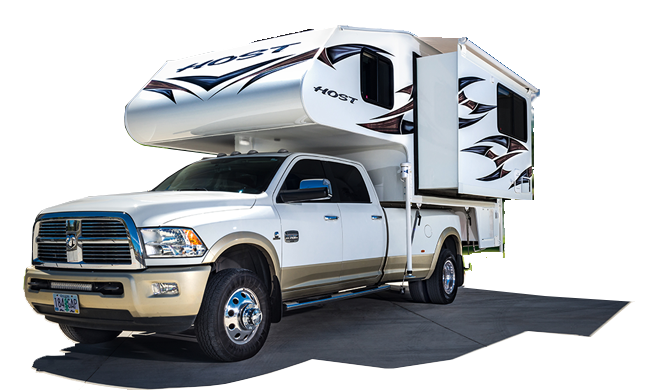 Mammoth Truck camper, Low profile air conditioner, Camper