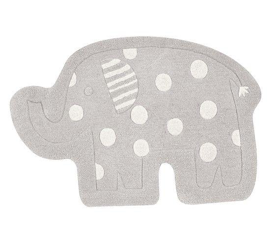 Elephant Shaped Rug Elephant Baby Bedding Pottery Barn