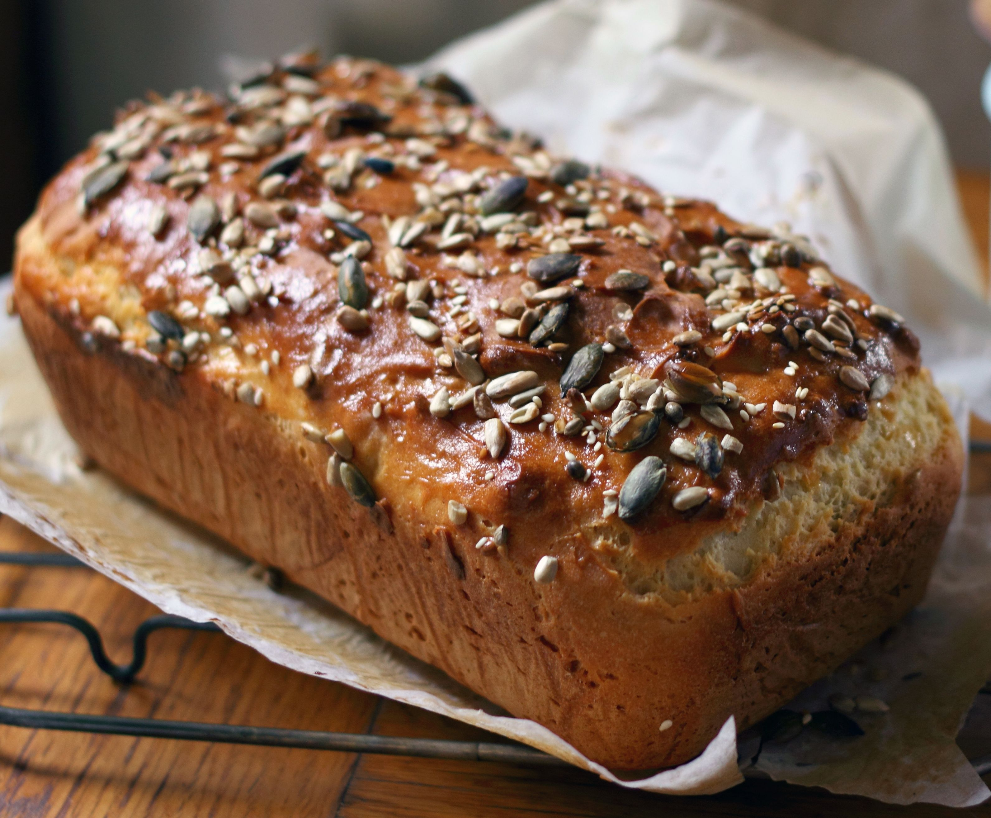 Multi seeded wheat free bread recipe free wheat free bread and multi seeded wheat free bread bake off recipesbbc forumfinder Image collections