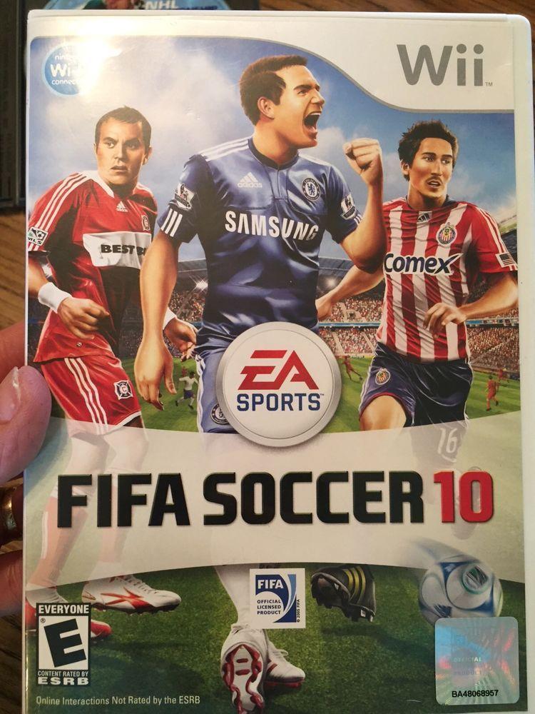 FIFA Soccer 10 (Nintendo Wii, 2009) eBay Fifa, Soccer, Wii