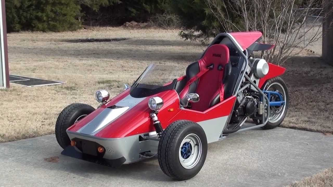 Yamaha 600cc Reverse Trike Updated Bikes Trikes Yikes Concept The Bmw I1 Is An Electric Singleseater Trikecar By Designer