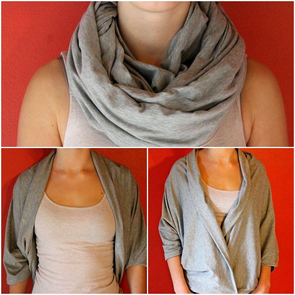 Grimmskram: Vinyasa - ein Schal, viele Möglichkeiten!
