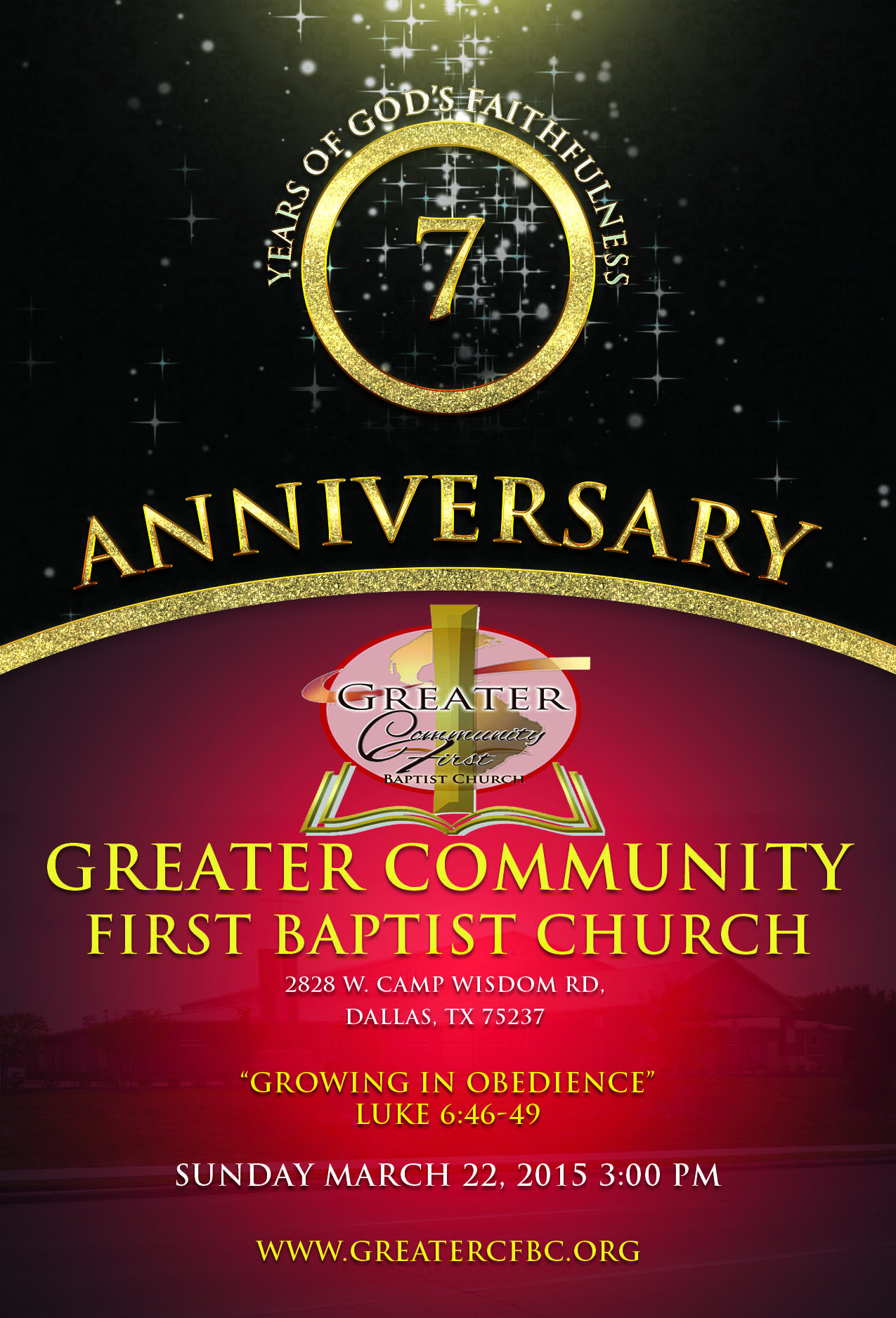 Join Us! Greater Community First will be celebrating our ...