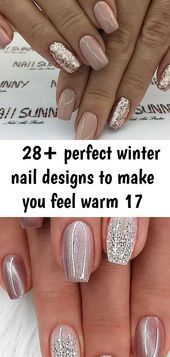 #Designs #Feel #img #Nail #Perfect #warm #Winter 28+ perfect winter nail designs to make you feel wa
