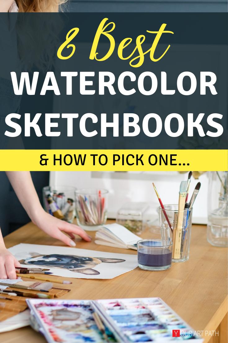 Best Watercolor Sketchbook : watercolor, sketchbook, Watercolor, Sketchbooks, YourArtPath, Sketchbook,, Sketch, Book,, Sketchbook, Ideas, Inspiration