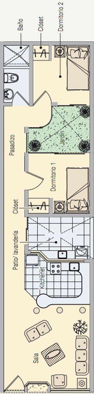 Plano de vivienda de 60m2 planos de casas gratis y for Planos de casas de campo gratis