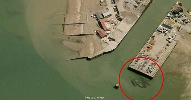 You Won't Believe What Someone Found On Google Maps. Creepy.