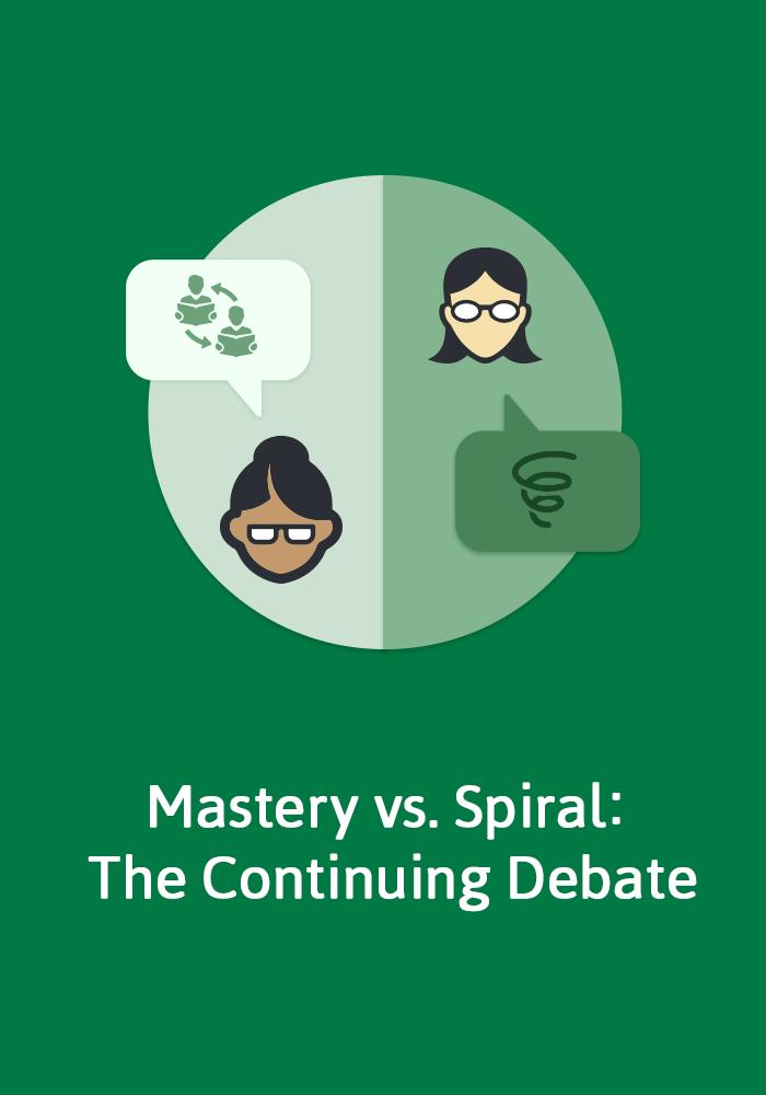 Mastery Vs Spiral The Debate Continues Mastery Maths Spiral Math Homeschool Math
