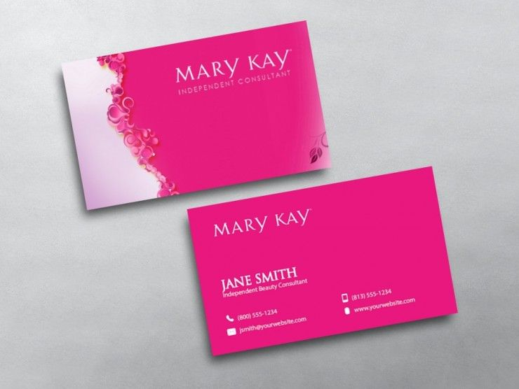 Mary kay business cards mary kay and beauty consultant custom mary kay business card printing for mary kay independent beauty consultants design print cheaphphosting Image collections