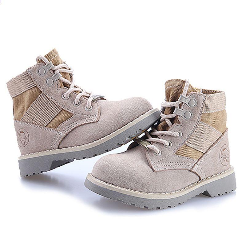 Dapchild Dzieciece Buty Prawdziwej Skory Mark Martin Buty Dziewczyny Chlopcy Zimowe Buty Dzieciece Buty Pustynne Rosja Chlopcy But Combat Boots Army Boot Boots