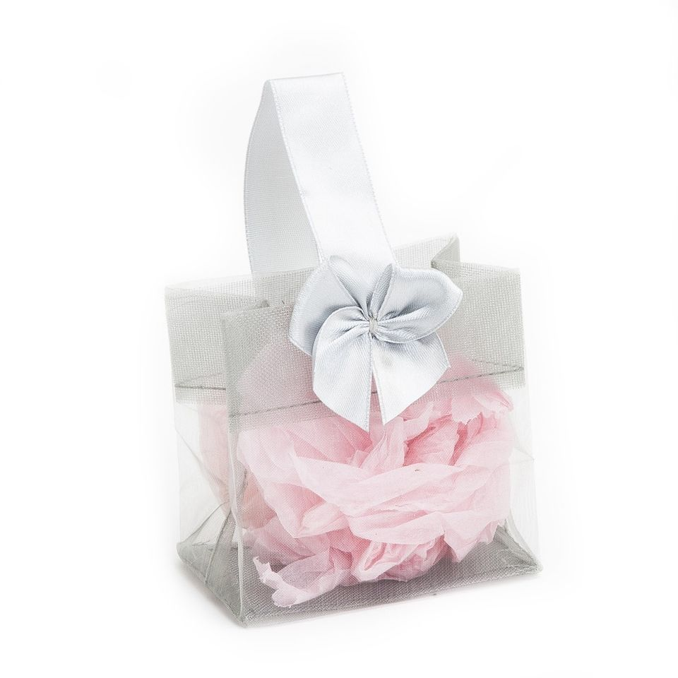 3 Silver Organza Favor Bags 12pack For Any Occasion Snobby